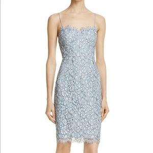 Likely Blue Lace Dress